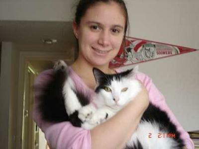 me and Mr Bill the cat